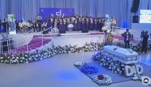 Pastor Adeboye's son, Dare, laid to rest (photos) | Warritatafo