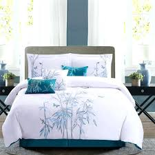 turquoise bedding sets turquoise bedding fl double duvet cover set turquoise and brown king bedding sets