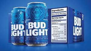 Bud Light Bud Light Debuts Bigger Nutrition Labels