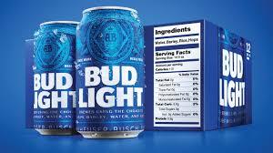 Bud Light Catalog Bud Light Debuts Bigger Nutrition Labels