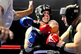 Amateur boxing friend knock pro