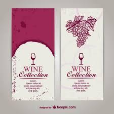 Free Wine List Template Download Wine Menu List Template Vector Free Download