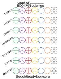 21 Day Fix Chart Blank Www Bedowntowndaytona Com