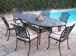 patio aluminum patio furniture set shower sling sets bistro white large size of cast dining