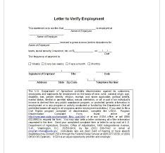 letter of employment confirmation employment verification letter top form templates free templates