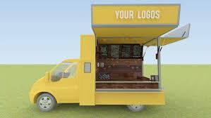 3d Food Truck Design Food Truck Design 3d Model 3d Model