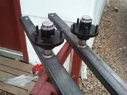 Wheel houses  Self made suspensions  Please post and brag about yours I bought some sliding leaf springs  pound each  put them on upside down on that x that will work as my axle suspension