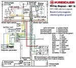wiring diagrams  myrons mopeds kreidler mp19 wiring turn signals mag whls bosch 4 wire 3 coil mag