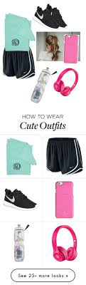 Workout outfit by daylinrose on Polyvore featuring NIKE, Kate Spade ...