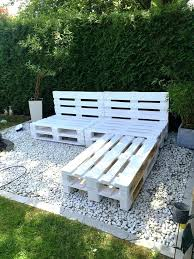 garden furniture from pallets. Wood Pallet Outdoor Furniture Chic White Painted L Sofa Frame How To Make . Garden From Pallets
