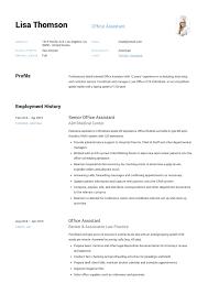 Sample Resume Admin Resume Sample Resume For Office Assistant