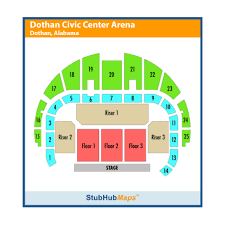 Ozark Civic Center Seating Chart Dothan Civic Center Arena Events And Concerts In Dothan