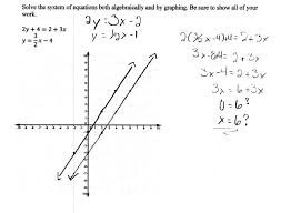 appealing solving a system of equations 1 students are asked to solve systems by graphing worksheet