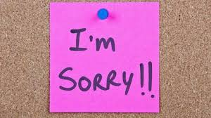 i m sorry isn t enough here are the 3 steps to apologizing effectively