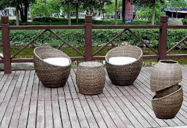 Bamboo Outdoor Furniture Table And Chairs