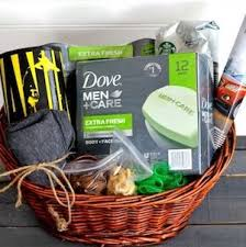 diy gift basket for fathers from savvy saving couple