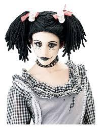 gothic rag doll wigs