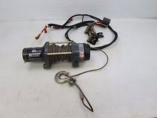 used warn winch 2013 13 can am commander 1000 warn winch kit xl4000 w cable 705003944