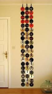 Don't throw away your old yucky CDs! Turn them into wall