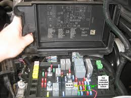 get 12v switched power from here chevy trailblazer trailblazer report this image