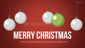 Presentationload Christmas Templates Christmas Tree Balls