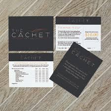 Cachet Hair Design Graphic Design Elisabeth Brennan