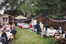 DIY Backyard Wedding On The 4th Of JulyBackyard Wedding Diy