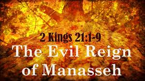Image result for THE TRIBE OF MANASSEH COMMITED MUCH EVILNESS IN THE SIGHT OF THE lORD