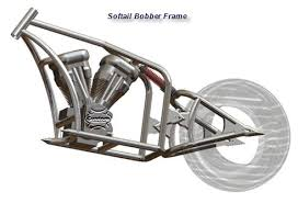 custom softail motorcycle frames. Softail Bobber Custom Motorcycle Frames
