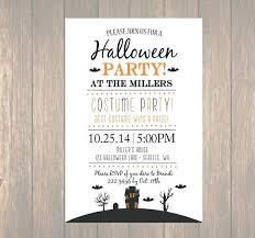 Costume Party Invitation Ideas Printable Invitation Costume Party