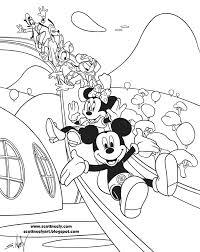 Kleurplaten Mickey Mouse Clubhouse