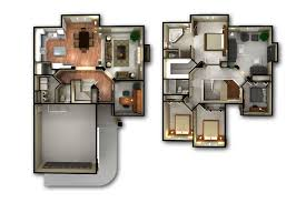 house plan d home floor intercine monster plans designs create your own simple small house