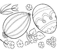 Online Easter Egg Coloring Pages