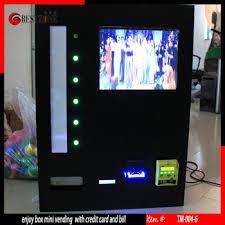 Vending Machine Credit Card Reader Simple Enjoy Box Vending Machine With Credit Card And Bill Buy Vending