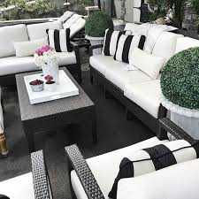 modern black and white furniture. best 25 black outdoor furniture ideas on pinterest rattan garden designer and conservatory modern white