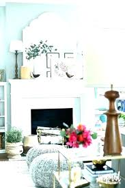 over fireplace decor wall ideas the above mantel valuable design brick decorating old fireplac
