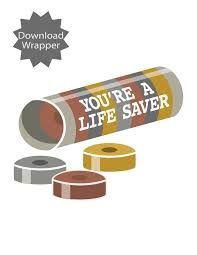 give team members a roll of life savers and a note of thanks for knowing