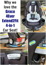 Why we love the Graco 4Ever Extend2Fit 4-in-1 Car Seat! #GenerationGraco #Review Love