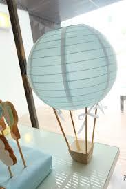 diy centerpiece hot air balloon