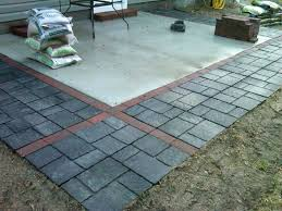 lovely patio stones home depot for 35 installing patio stones home