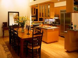 Dining Kitchen Dining Kitchen Design Ideas Gray L Shape Kitchen Design With