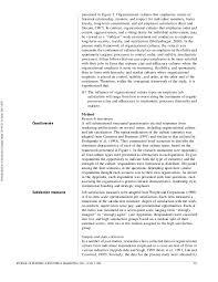 organizational culture and job satisfaction 6 presented in figure 1 organizational cultures