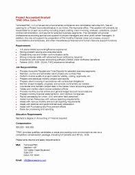 Sample Accounting Resume Awesome Unsolicited Application Letter