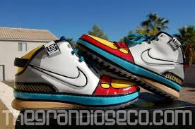 lebron 6 stewie. acquired conscience: family guy inspired nike lebron vi\u0027s. love the artwork on these. 6 stewie