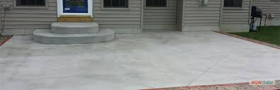 concrete patio. Standard Concrete Patio With Stamped And Stained Borders Concrete Patio