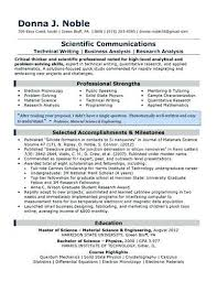 Resume Extracurricular Activities Sample Extra Curricular