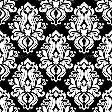 Black And White Patterns Adorable Retro Black And White Seamless Pattern By VectorTradition GraphicRiver