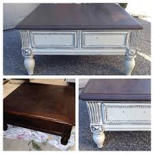 blue painted coffee table amazing of painted coffee table with best coffee table refinish ideas on