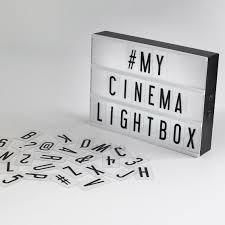 original cinema lightbox