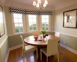 Chair Rail In Small Dining Room Dining Table Dining Room Eclectic - Dining room two tone paint ideas